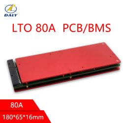 Système de gestion de la batterie Daly LTO BMS batterie 5S/10S/15S/20S/30S/35s 80a Commission de protection de la batterie au lithium-Titanate BMS