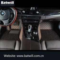 卸売のための5D 7D車の床のマットPVC革物質的な自動車の付属品