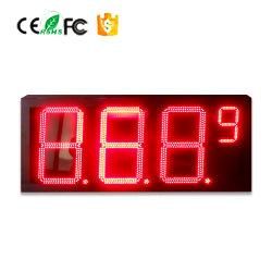 Зеленый 10-дюймовый LED водонепроницаемые желтый светодиод АЗС цены входа для использования вне помещений водонепроницаемой цифровой, цены на нефть, светодиодный дисплей со стороны привода ГРМ