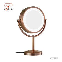 Старинная таблицу в левом противосолнечном козырьке Desktop светодиодный светильник из стекла в рамке зеркало для макияжа