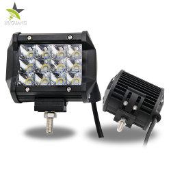 Venta caliente Mini Luces de trabajo de protección IP68 10-30V Carcasa de aluminio de las barras de LED de 4pulg.