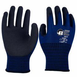 Super résistant et confortable ! 13G en nylon haute élastique avec revêtement en latex de sable des gants de sécurité