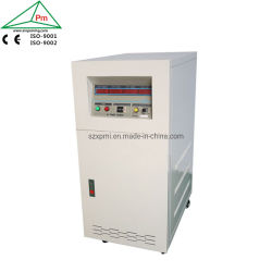 60kVA AC de alta capacidad de corriente y tensión de precisión de la fuente de alimentación