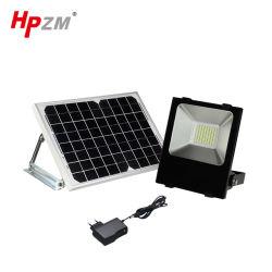 防水照明の外の太陽電池パネルLEDの洪水ライト