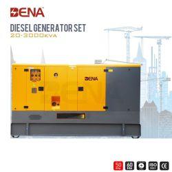 Les générateurs d'auvent refroidi par eau avec moteur diesel pour utilisation des terres