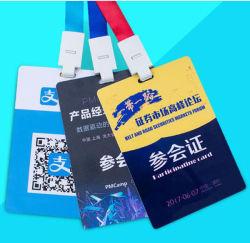 Travaillant en plastique ou d'expositiond'un insigne, le nom Tag, carte PVC