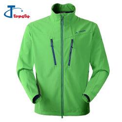 Custom Alto Verde de qualidade entre homens e mulheres à prova de piscina de Inverno Fleece Jaqueta Softshell