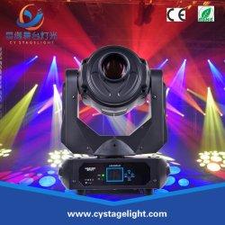 180W pequeno palco poderoso movimento LED de luz da cabeça com Gobo