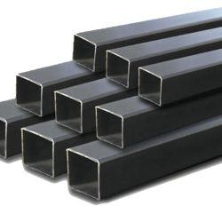 Ms cuerpo hueco del tubo de acero templado negro tubo cuadrado de acero