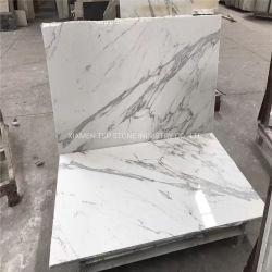 De natuurlijke Wit/Zwart/Beige/Grijze Plak van de Steen/Travertijn/Graniet/Marmeren Tegel voor de Bevloering van de Plak van het Project