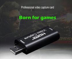 De audio Video vangt Kaart HDMI aan USB--Levende de uitzending, het Verslag via DSLR, Camcorder, of de Nok van de Actie, 1080P, Compacte HDMI vangen Apparaat, USB 2.0