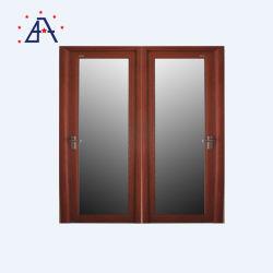Алюминиевая рамка из светлого дерева дверная рама перемещена зерна/опускное стекло окна