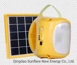 Asequible portátil de lectura de la tabla Solar LED Lámpara de luz para interiores la iluminación solar