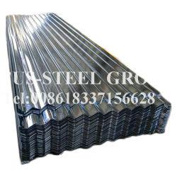 China Fornecedor Metal Barata Canelado Galvanizado Telhas de Zinco Folha do Cus-Steel