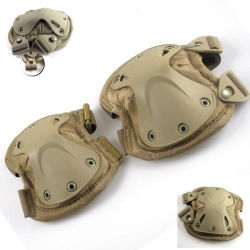 11のカラースポーツのAirsoftの戦術的な軍の保護肘の膝パッド