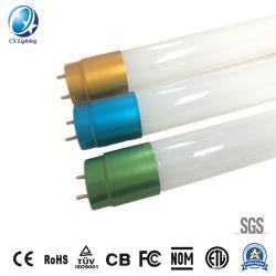 세륨 RoHS 보장을%s 가진 두 배 운전사 40W LED T8 관 4000lm 100lm/W 85-265V 유백색 유리 3 년