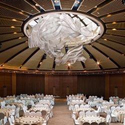 현대 큰 호텔 로비 프로젝트 훈장 유리제 수정같은 샹들리에