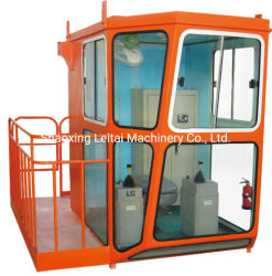 1,5m Breite Krankabine mit klappbarem drehbarem Sitz