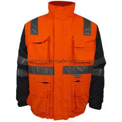 ملابس عمل مضادة للرياح عاكسة بشكل عام لبذلة احترافية