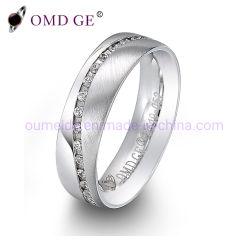 De nieuwe Juwelen van het Huwelijk van Zircon Rins van de Stijl Vrouwelijke en Mannelijke