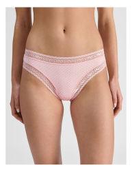 النساء انخفاض مثير الملابس الداخلية المريحة Lace G-String ارتفاع منخفض