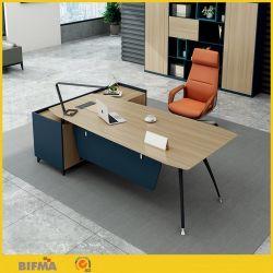 Neuer Entwurf moderner CEO-Manager-moderner Büro-vollziehendschreibtisch mit Bücherregal-Büro-Möbeln