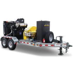 Motor Diesel de 2758bar 174CV Super máquina de chorro de agua a alta presión Filtro de agua