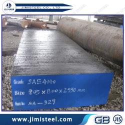 Scm440/4140/1.7225/42CrMo4/Structural Alloy Steel 42CrMo Forjed Hot Round Bar and Placa plana de aço