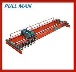 Anhebender Maschinen-elektrische 10 Tonnen-Doppelt-Träger-Brücken-Laufkran für Produktionszweig für Förderrohrleitung/Bereich