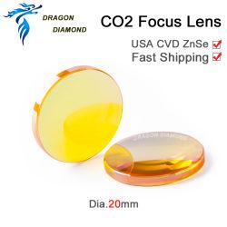 USA ZnSe lente laser CO2 per parti di macchine laser
