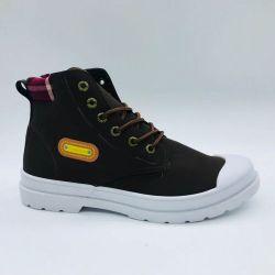 Injecção de novos homens Botas Informal do calçado de lazer com corte médio (FZL202-1)