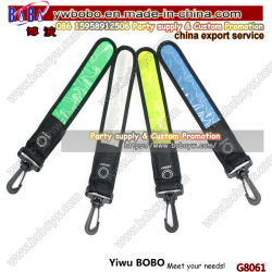 Comercio al por mayor de PVC reflectante Colgador de llaves bolsas impermeables etiqueta productos reflectantes (G8061)
