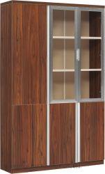 Clásico moderno de alta calidad Office Hogar utiliza 3 puertas de madera estantería (BL-FC277)