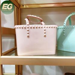 PVC Rainbow Beach sac fourre-tout sac à main de l'embrayage de silicone sacoche à bandoulière matelassée femmes Sac de luxe de gros Crossbody Fashion Designer Sac lady de l'épaule gelée