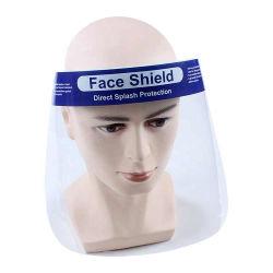 قناع الوجه الشفاف بالكامل مع ملء شاشة الوجه الواقي عالي الوضوح قناع الوجه الحماية من الأدخنة منع الأدخنة منع الوجه وشاشة منع الضباب