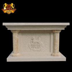 منتجات الحجر الديني الحجر المنحوت يدويا كنيسة الحجر الرخام