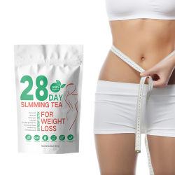 أفضل مبيعات 28 يوم من شاي الأعشاب الطبيعية الصينية ذات الطبيعة العضوية احاسب الشاي لفقدان الوزن وقليل السمك