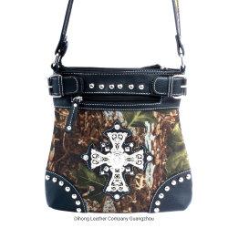 西部様式の十字のラインストーンによって散りばめられるハンドバッグ