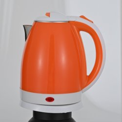 Hotel Travel Kitchen Appliances Teapot doppia parete plastica elettrica teapot Caldaia portatile di sicurezza Teapot colorato