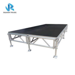 Assembleer Portable Stage Concert Stage Event Stage in Stage Factory 2020 Aluminium Stage Guangzhou China Wedding Stage