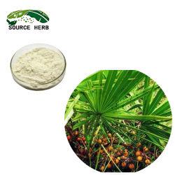 Pure Nature des acides gras de 25 % 45 % Saw Palmetto Extrait Extrait de sciure de bois en poudre