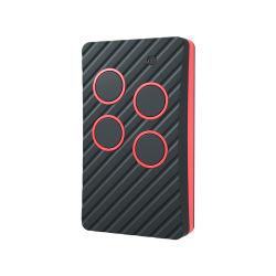 Mini Electric cara a cara Garaje 433 MHz de 4 botones de control remoto con código rotativo Duplicator copia Mando original de cara a cara.