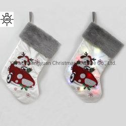 2020 новых Санта Клаус Sock подарок Xmas елочные украшения висящих украшений подарок владельцев рождественские чулки