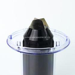 De plástico personalizada Licuadora la leche de pedestal de la cubierta de plástico
