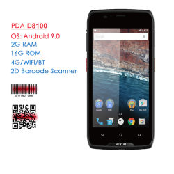 Draadloze Warehouse Handheld robuuste barcodescanner Android PDA Data Terminal RFID 4G WIFI GPS