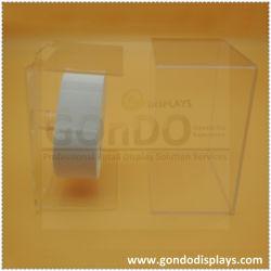Персонализированный клипса с Perspex лоток прозрачный акриловый дисплей часов Коробка