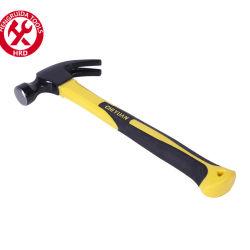 Ein Stück geschmiedeter Krallen Hammer mit Stahlgriff verschiedene Arten Der Claw Hammers