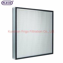 UL-geclassificeerd filter met EN1822-testrapport Mini-Pleat HEPA-filter