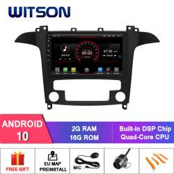 DIN Witson double lecteur de DVD de voiture GPS pour Ford S-Max 2008-2010