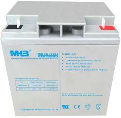 12V18Ah batería de plomo ácido libre de mantenimiento de UPS/ sistema de seguridad